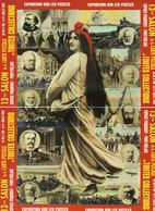 13° Salon De La Carte Postale - FREJUS - 2002 - Puzzle De 4 CPM - Tirage Limité     (107277) - Frejus