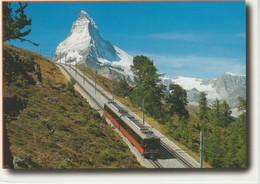 (TREN27) GORNERGRATBAHN. ZERMATT - Treni