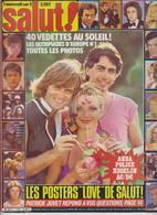 SALUT ! - N° 112 DU 9 AU 22 JANVIER 1980-SARDOU-DAVE-CHAMFORT-ABBA-POLICE-HIGELIN- FRAIS PORT COMPRIS POUR LA FRANCE - Musique