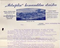 CROATIA - HRVATSKA -  PETROPLIN Komanditno Društvo  ZAGREB -  Cc 1900 - Bills Of Exchange
