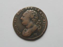 12 Deniers 1793 BB  - Louis XVI Roi Des FRANCAIS  **** EN ACHAT IMMEDIAT **** Monnaie  RARE !!!! - 1789-1795 Period: Revolution