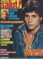 SALUT ! - N° 186 DU 10 AU 23 NOVEMBRE 1982-SARDOU-LAHAYE-KIM WILDE-BALAVOINE- FRAIS PORT COMPRIS POUR LA FRANCE - Musique