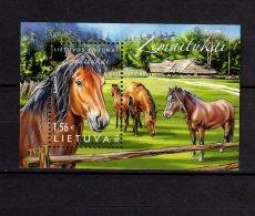 2016 Lithuania - LIthuanian Endemic Animal - Žemaitukas-Pony - MNH** MI B 52 Zz17 - Lituania
