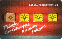 FINLAND - Sonera Telecard, Tirage 30000, 12/01, Used - Finland