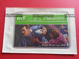 UK - L&G - BT 20u RUGBY WORLD CUP 1991 - MINT Sealed Blister NSB - United Kingdom