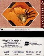 TARJETA TELEFONICA DE DINAMARCA. TDTS006P, Relief Serie N.16, 07.95. CN4141, TIRADA 2500 (118) - Dinamarca