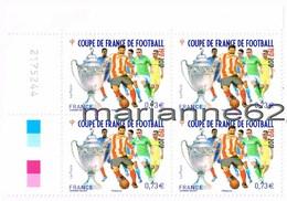 """France 2017 TP*4 Coin """" Coupe De France De Football 1917-2017 """" 2175244 - Coins Datés"""