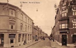 Herve - Rue De La Station (animée, Café Restaurant, Hotel Gaspars) - Herve