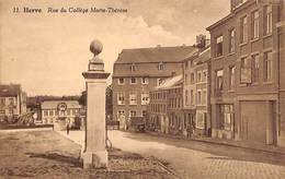 Herve - Rue Du Collège Marie-Thérèse (animée, Pompe, Canon) - Herve