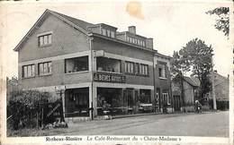 Rotheux Rimière - Le Café Restaurant Du Chêne-Madame (arrêt De L'autobus, Animée) - Neupre