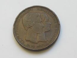 Médaille Belgique LL.PH.M.V.DUC DE BRABANT M.H.A. DUCHESSE DE BRABANT 21 -22 Aout  ****  EN ACHAT IMMEDIAT  **** - Royaux / De Noblesse