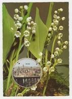 06 Grasse En Médaillon De Brins De Muguet D'une Carte Parfumée Vallazur Parfum Fragonard - Grasse