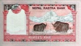 NEPAL P. 60a 5 R 2002 UNC (2 Billets) - Nepal