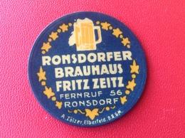 Briefmarken Kapselgeld Ronsdorf Wuppertal Ronsdorfer Brauhaus Fritz Zeitz - 10 Pfennig