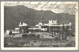 CPSM Espagne - Vallehermoso - Hôtel Monteolono - Espagne