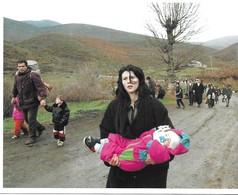 CARTE  PHOTO  A.F.P     27.5x17.5   (kosovo  / PASHTRIKUT 1999) - Postcards