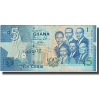 Billet, Ghana, 5 Cedis, 2010, 2010, KM:38b, TB - Ghana