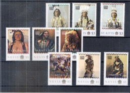 Native American Tribes - Indians -2011 - St.Kitts - Nevis - XX/MNH ( To See) - American Indians