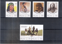 Native American Tribes - Indians -Palau 2011 - XX/MNH ( To See) - American Indians