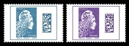 France 2018 Mih. 7077y/78y Definitive Issue. New Marianne MNH ** - France