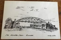 The Mumbles Train, Swansea ~ Harley Miller - Tramways