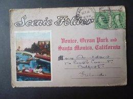 USA VINTAGE VIEW CARDS OF ORLEAN PARK VENICE, CALIFORNEA 1923 - United States