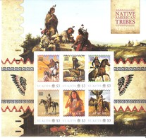 Native American Tribes - Indians  - Apache - St.Kitts 2011 - Sheet - XX/MNH (to See) - American Indians
