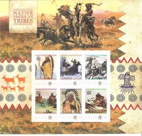 Native American Tribes - Indians  - Sioux - Nevis 2011 - Sheet - XX/MNH (to See) - American Indians