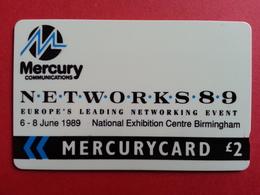 UK - MERCURY - NETWORKS 89 Natworking Event 1989 Exhibition Birmingham - United Kingdom