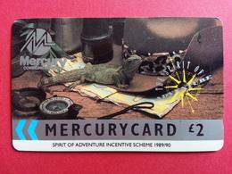 UK - MERCURY - SPIRIT OF ADVENTURE INCENTIVE SCHEME 1989 - 15MER RR - United Kingdom