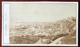 CDV Circa 1870 Photographie Du Mont-Saint-Michel à Avranches. Vue De Granville. - Alte (vor 1900)