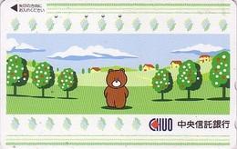 Télécarte Japon / 110-011 - BD Comics - Animal Série OURS CHUO - Teddy BEAR Japan Phonecard - 547 - Comics