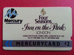 UK - MERCURY - INN ON THE PARK LONDON 01 - 16MERB - United Kingdom