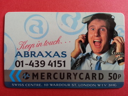 UK - MERCURY - ABRAXAS Keep In Touch 01 - 16MERD - United Kingdom