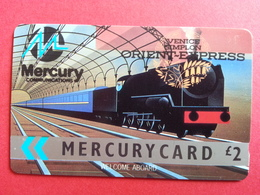 UK - MERCURY - ORIENT EXPRESS TRAIN VENICE SIMPLON - 17MERE RR - United Kingdom