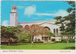 [VD,15] AGANA, Guam. Cathedral (Dulce Nombre De María). No Viajada, No Escrita. / Non Voyagée, Non écrite. - Guam