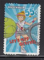 Australia 2009 Used Scott #3174 55c Tennis - Kids' Sports - Self Adhesive - Used Stamps