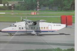 Streamline Aviation Shorts 330-200 G-SSWA At Liege - 1946-....: Moderne
