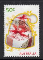 Australia 2009 Used Scott #3179 55c Presents In Stocking Cap - Christmas - 2000-09 Elizabeth II