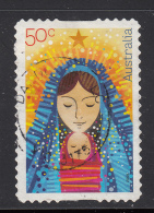 Australia 2009 Used Scott #3183 55c Madonna And Child - Christmas - Self Adhesive - 2000-09 Elizabeth II