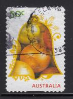 Australia 2009 Used Scott #3187 55c Ornaments In Bell - Christmas - Self Adhesive - 2000-09 Elizabeth II