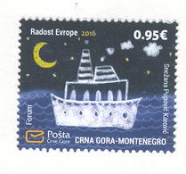 MONTENEGRO 2016 Joy Of Europe, Scott # 406 MNH - Montenegro