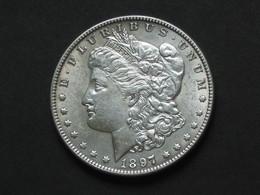 1 One Dollar 1897  - MORGAN - Silver - Etats-Unis - United States - USA  *** EN ACHAI IMMEDIAT **** - Federal Issues