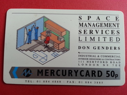 UK - MERCURY - SPACE MANAGEMENT SERVICE DON GENDERS - 18MERD - United Kingdom