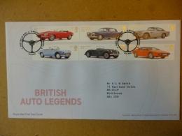 GREAT BRITAIN [GB] SG 31XX BRITISH AUTO LEGENDS SETENENTS (2013)  FDC ALWALTON PETERBOROUGH - FDC
