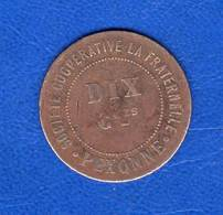 Pexonne  54   Coop  La  Fraternelle  10  Cts - Monetary / Of Necessity