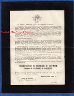 Document De 1907 - SCALIBERT / Saint Paul Cap De Joux - Mme Charlotte Zoé Prud'homme De SAINT MAUR Baronne De CLAUSADE - Documents Historiques