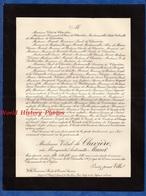 Document De 1907 - CANNES , Villa Germaine - Marguerite Antoinette MUNET épouse VITAL De CLAVIERE - Documents Historiques