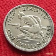New Zealand 1 Shilling 1951 KM# 17 *V1  Nova Zelandia Nuova Zelanda Nouvelle Zelande - New Zealand