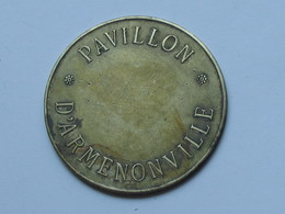 Médaille Exposition 1900 - Pavillon D'ARMENNONVILLE  **** EN ACHAT IMMEDIAT **** - Professionals / Firms
